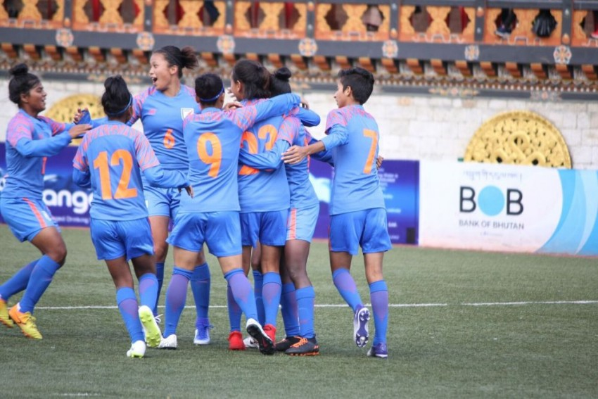 SAFF U-15 Women's Championship: India Hammer Nepal In Opener