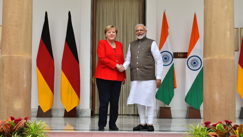 Situation In Kashmir Not Good, Says Angela Merkel On India Visit