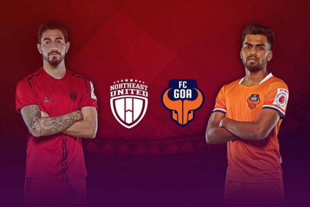 ISL 2019-20, Match 13 Highlights: Late Manvir Singh Goal Helps FC Goa Share Spoils With NorthEast United