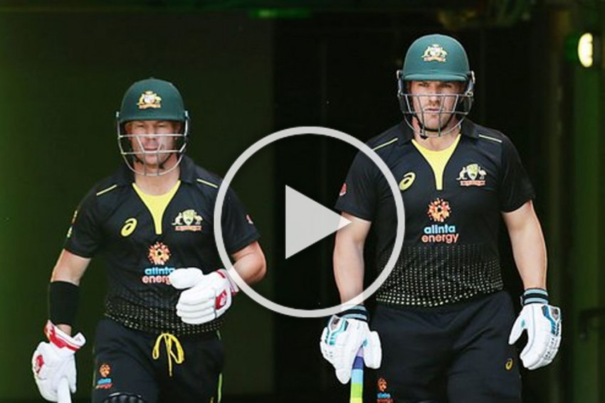 AUS Vs SL, 3rd T20I: Captain Aaron Finch Breaks Australia Sixes Record - Watch Glorious Hits Out Of The Park