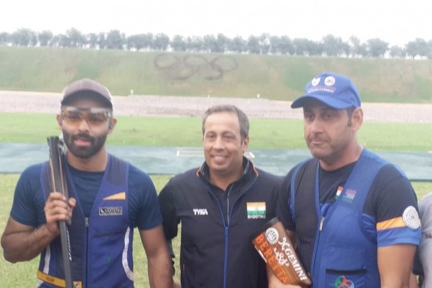 Asian Shooting Championships: Angad, Mairaj Take India's Olympic Quota Place To 15