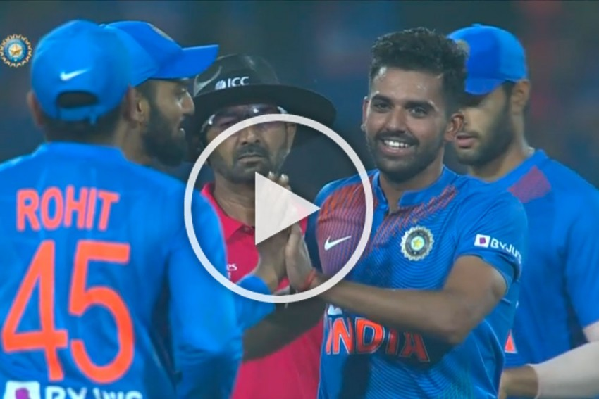 IND Vs BAN: Hat-Trick Hero Deepak Chahar Produces Best Ever T20I Figures, Reduces Bangladesh To Rubble - WATCH