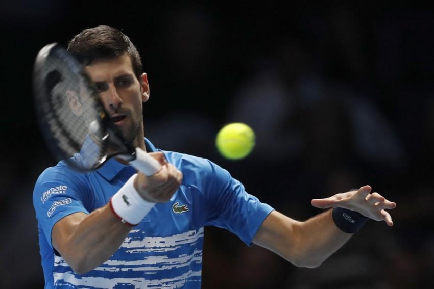 Sensational Novak Djokovic Dispatches Matteo Berrettini To Kick-Off ATP Finals In Style