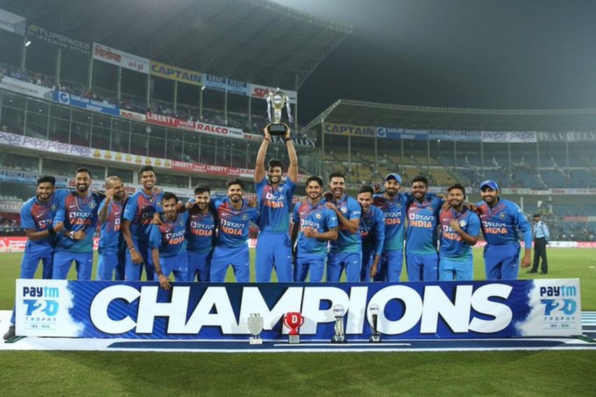 Deepak Chahar's Record-Breaking Show Guides India To T20 Series Win Over Bangladesh