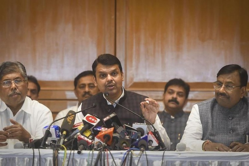 Another Twist In Maharashtra Politics, BJP Says 'Won't Form Govt, Good Luck To Shiv Sena'