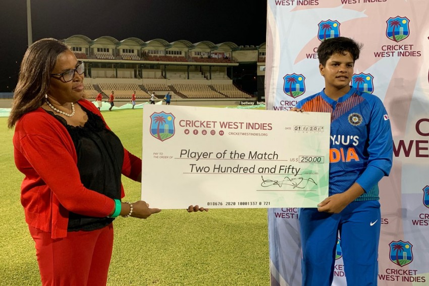 Shafali Verma Becomes Youngest Indian To Hit International Fifty, Goes Past Sachin Tendulkar's Record