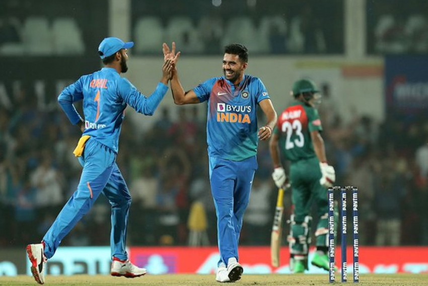 IND Vs BAN, 3rd T20I: BCCI President Sourav Ganguly Leads Celebration As Cricket World Bows To Sensational Deepak Chahar