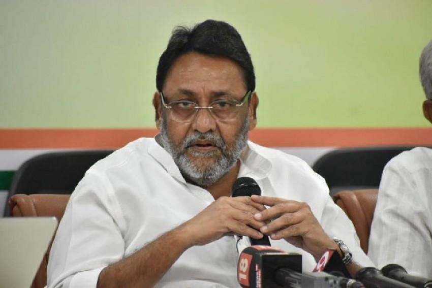 No Chance Of Shiv Sena Backing Congress–NCP Govt In Maharashtra: NCP leader Nawab Malik