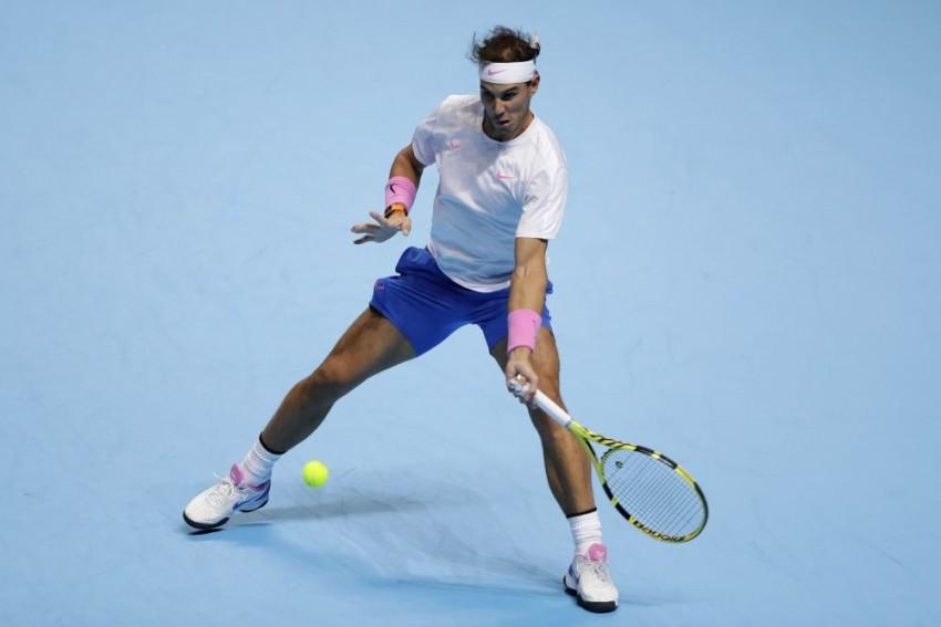 Rafael Nadal Loses ATP Finals Opener To Alexander Zverev