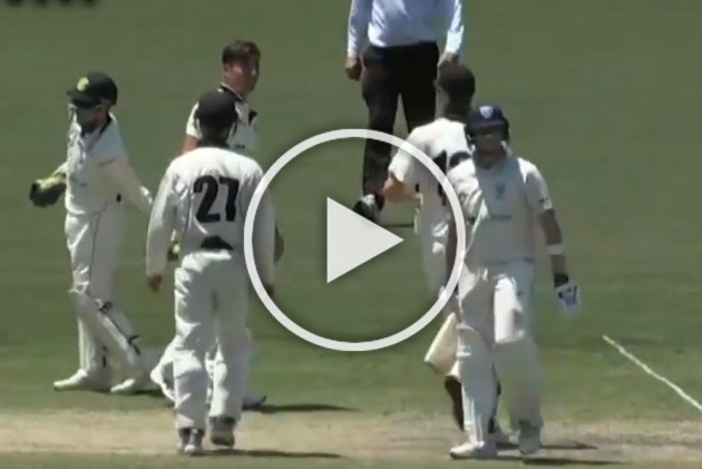 Steve Smith 'Forced To Leave Pitch' In Controversial Manner After Labouring To Career's Slowest Century - WATCH