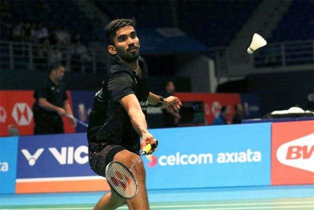 Hong Kong Open: Srikanth Kidambi Gets 1st Round Walkover After Kento Momota Pull-Out