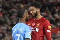 England Drop Raheem Sterling For Montenegro Clash After Reported Joe Gomez Bust Up