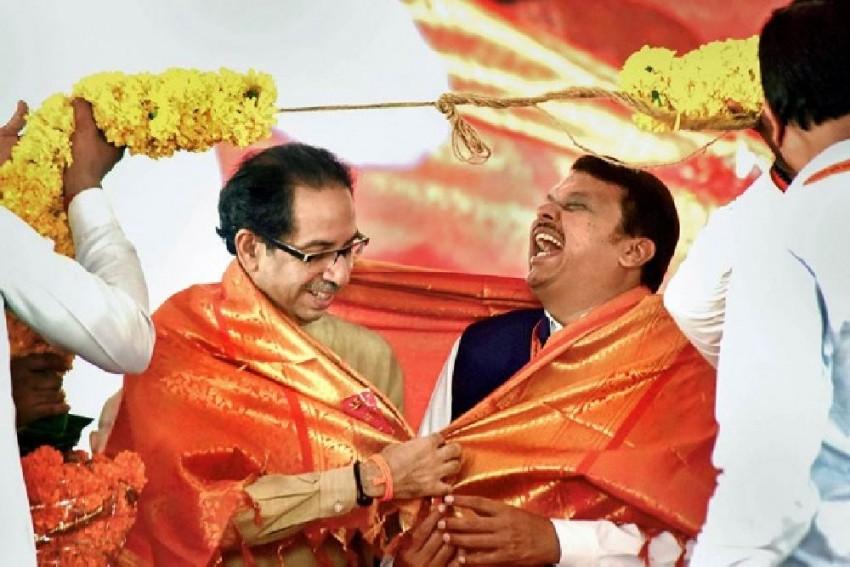 BJP Deriving 'Sadistic Pleasure' Out Of Maharashtra Logjam, Says Shiv Sena