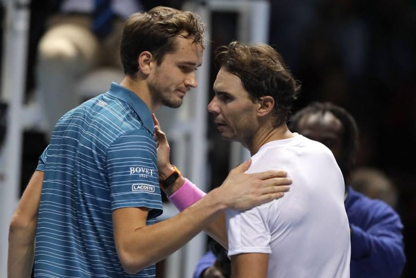 Atp Finals Super Lucky Rafael Nadal Apologises To Daniil Medvedev After Sensational Comeback