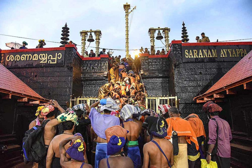Sabarimala: SC Refers Issue Of Women Entry Into Temple To Larger Bench
