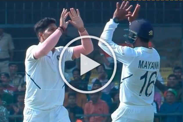 IND Vs BAN, Indore Test: Fiery Umesh Yadav, Ishant Sharma, Mohammed Shami Rock Bangladesh - WATCH