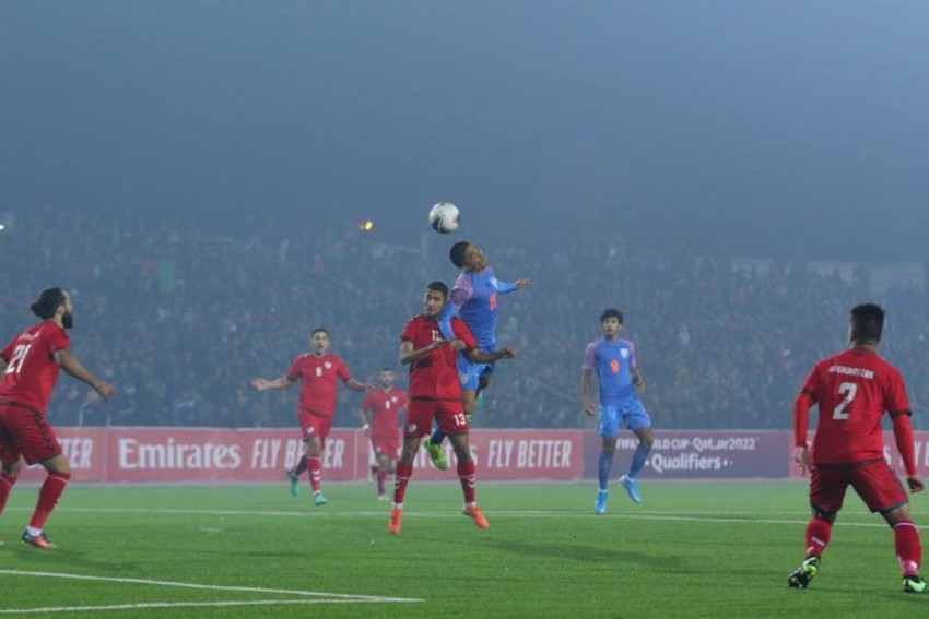 Highlights, India vs Afghanistan, 2022 FIFA World Cup Qualifier: Super Sub Len Doungel Scores As India Hold Afghanistan