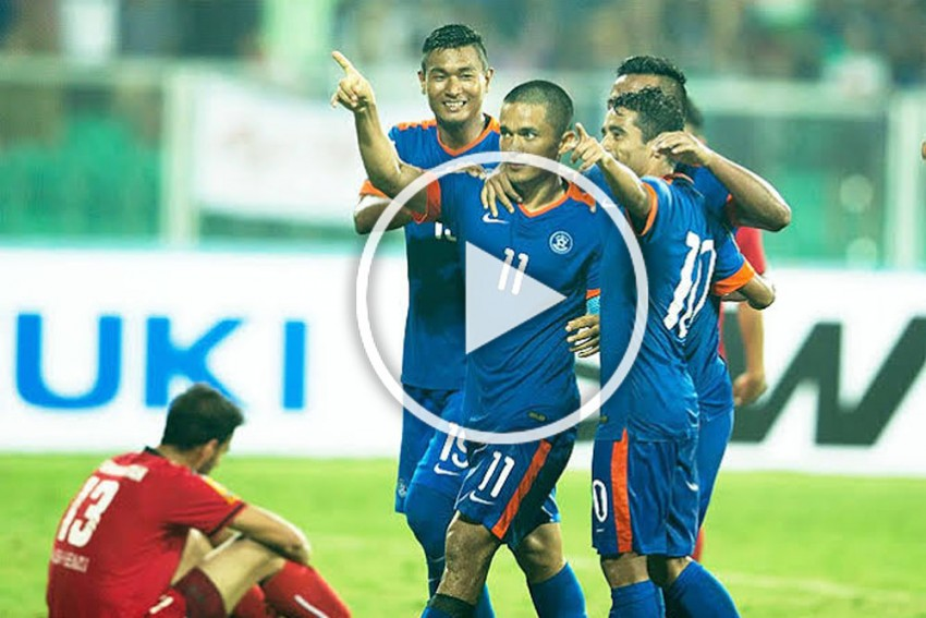 2022 FIFA World Cup Qualifier: How Many Goals Has India's Sunil Chhetri Scored Against Afghanistan? - WATCH