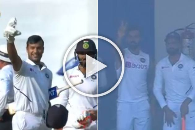 IND Vs BAN, Indore Test: How Virat Kohli Motivated Mayank Agarwal To Score Double Hundred - WATCH