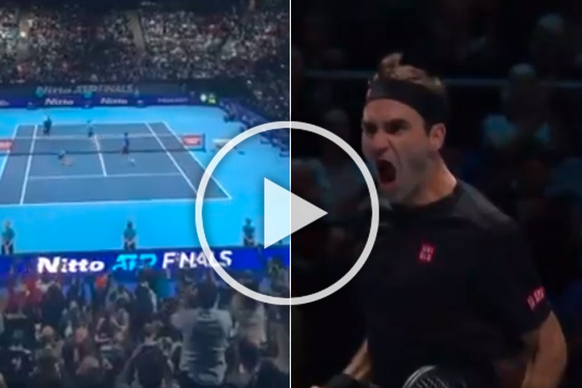 ATP Finals: Roger Federer Revels In 'Magical' Victory Over Noval Djokovic After Wimbledon Heartbreak - WATCH