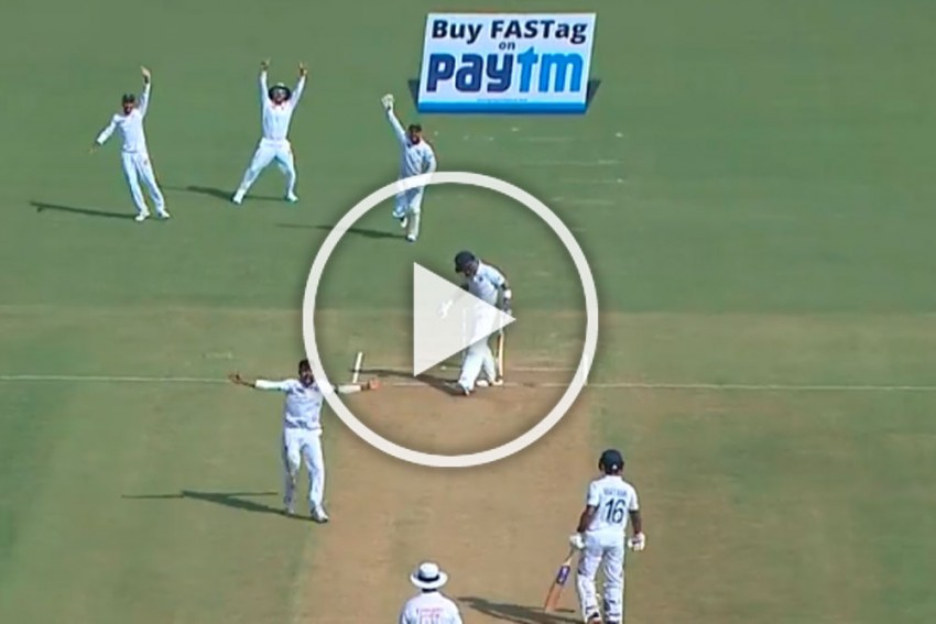 IND Vs BAN, Indore Test: Abu Jayed Stuns India, Dismisses Virat Kohli For Rare Duck At Home Match - WATCH