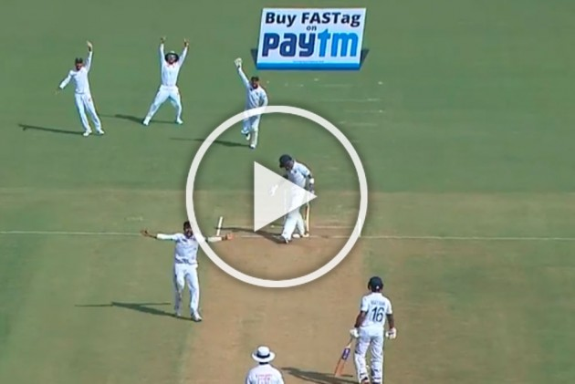 IND Vs BAN, Indore Test: Abu Jayed Stuns India, Dismisses Virat Kohli For Rare Duck At Home Match - WATCH