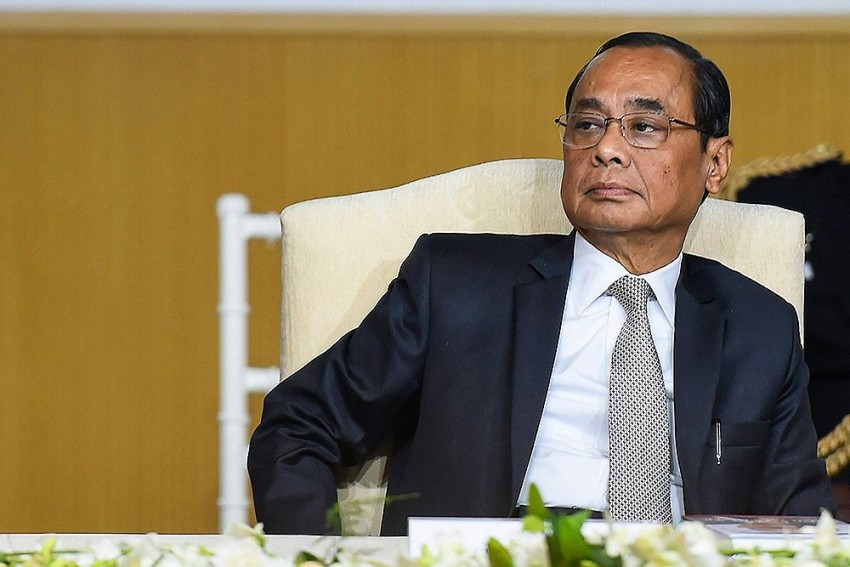 CJI Gogoi Sits On Supreme Court Bench For The Last Time