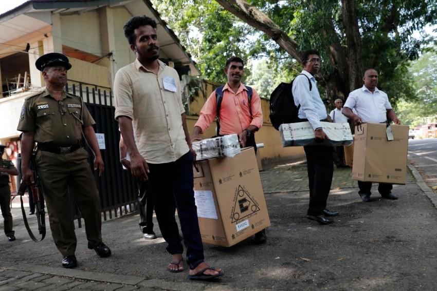 Sri Lanka To Elect New President On Saturday
