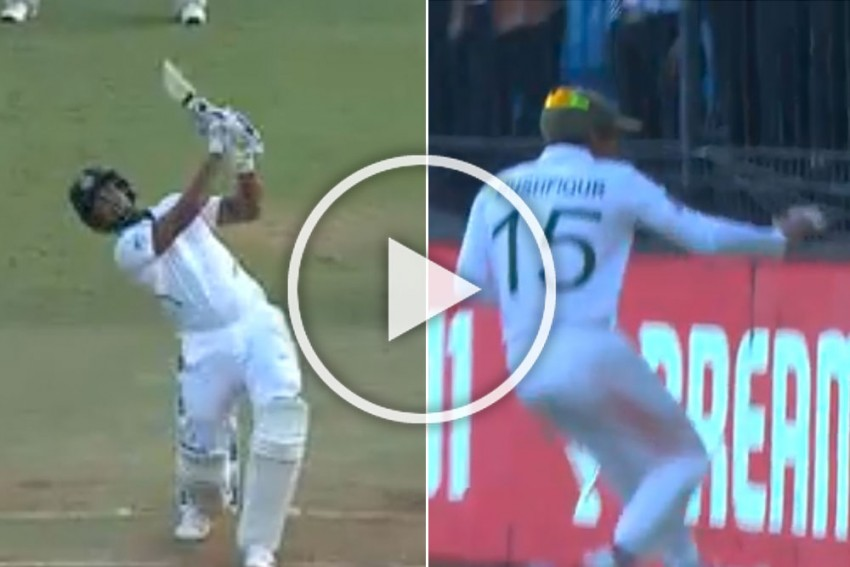 IND Vs BAN, 2nd Test, Day 2: Umesh Yadav Hits Outrageous Sixes To Rub Salt Into Bangladesh's Wound - WATCH