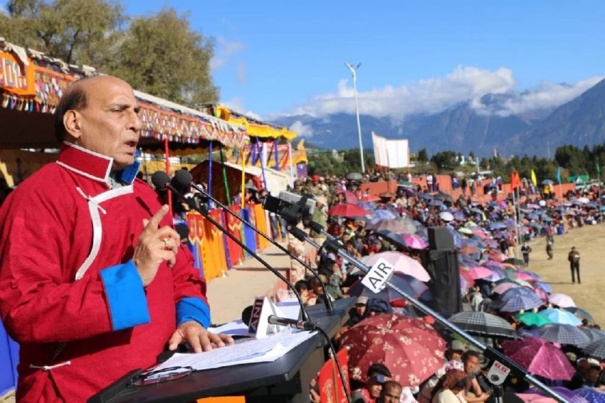 'We Firmly Oppose': China Objects To Rajnath Singh's Tawang Visit