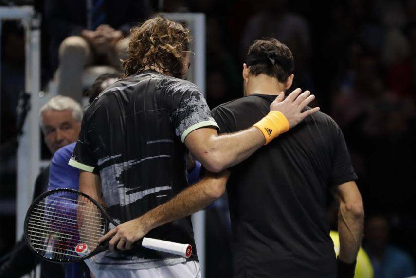 Atp Finals Stefanos Tsitsipas Living The Dream After Beating Roger Federer