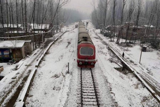 After Over 3 Months Of Suspension, Rail Services 'Fully' Resume In Kashmir