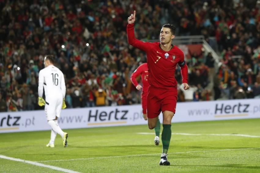 Cristiano Ronaldo Scores 99th Portugal Goal As Holders Seal Euro 2020 Spot