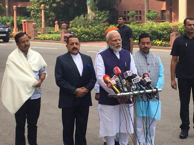 'We Are Open To All Discussions': PM Modi Ahead Of Winter Session Of Parliament