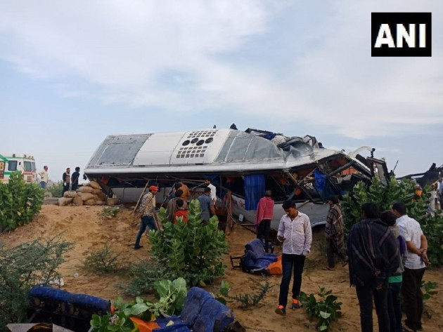 10 Killed, 22 Injured In Road Accident In Bikaner, Rajasthan
