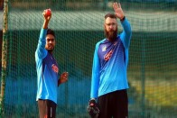 India v Bangladesh, Day-Night Test: BAN Pacers Practicing By Dipping Pink Ball In Water - Mehidy Hasan