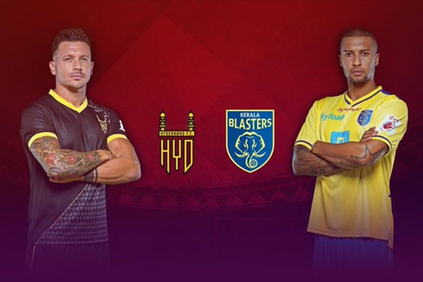 ISL 2019-20, Match 14 Highlights: Stunning Marcelinho Free-Kick Gives Hyderabad FC First Win At Home, Beat Kerala Blasters 2-1