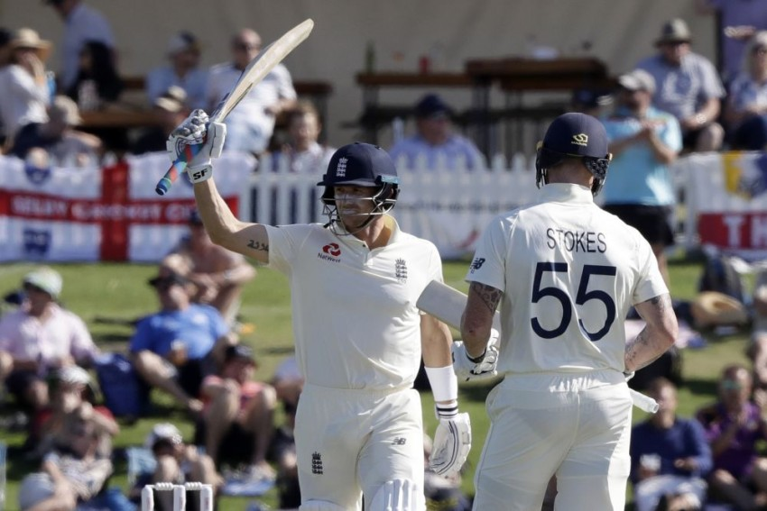 New Zealand v England, 1st Test: Joe Denly, Ben Stokes Help ENG Take Honours On Opening Day