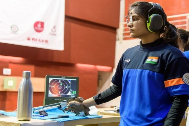 ISSF World Cup Final: Manu Bhaker Bags Gold, Breaks Junior World Record In 10m Air Pistol