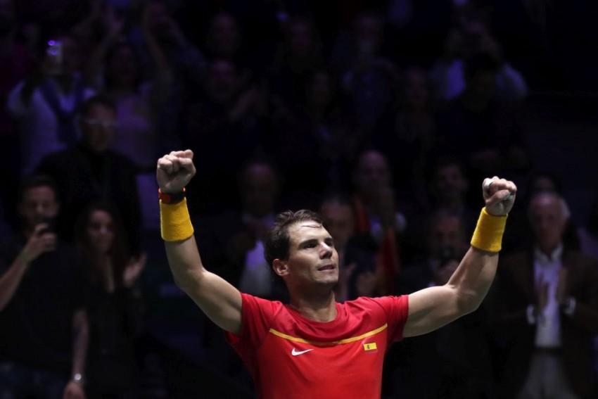 Davis Cup Finals: Rafael Nadal Dethrones Croatia And Puts Spain Into Last Eight