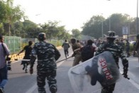 Shiv Sena Slams Centre Over 'Inhuman' Lathicharge On JNU Students