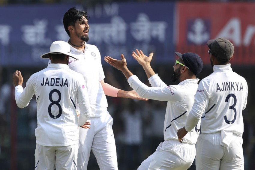 IND Vs BAN, Day-Night Test, Day 1: Ishant Sharma Stars with Pink Ball As Kolkata Hype Beats Cricket