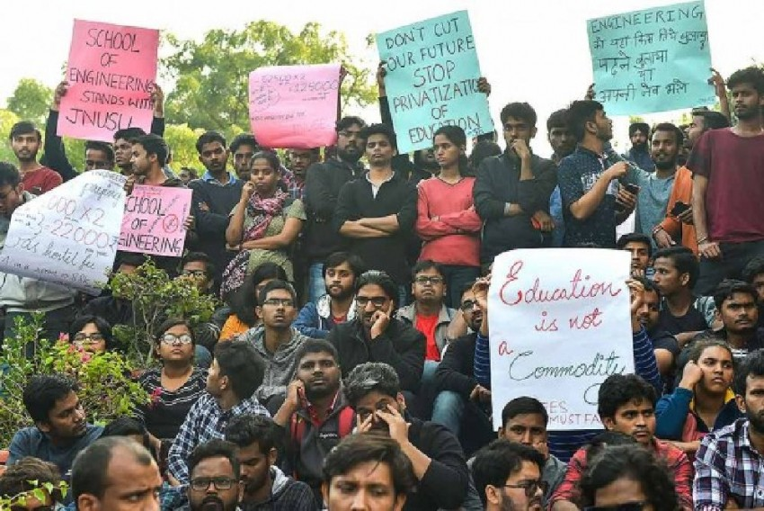 JNU Cites Rs 45 Cr Deficit As Students Demand Complete Roll-Back Of Fee Hike