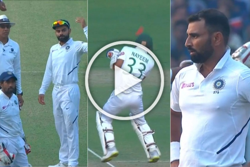 IND Vs BAN, Day-Night Test: Pink Fever Turns Into Concern As Mohammed Shami Terrorises Batsmen - Worried Reactions