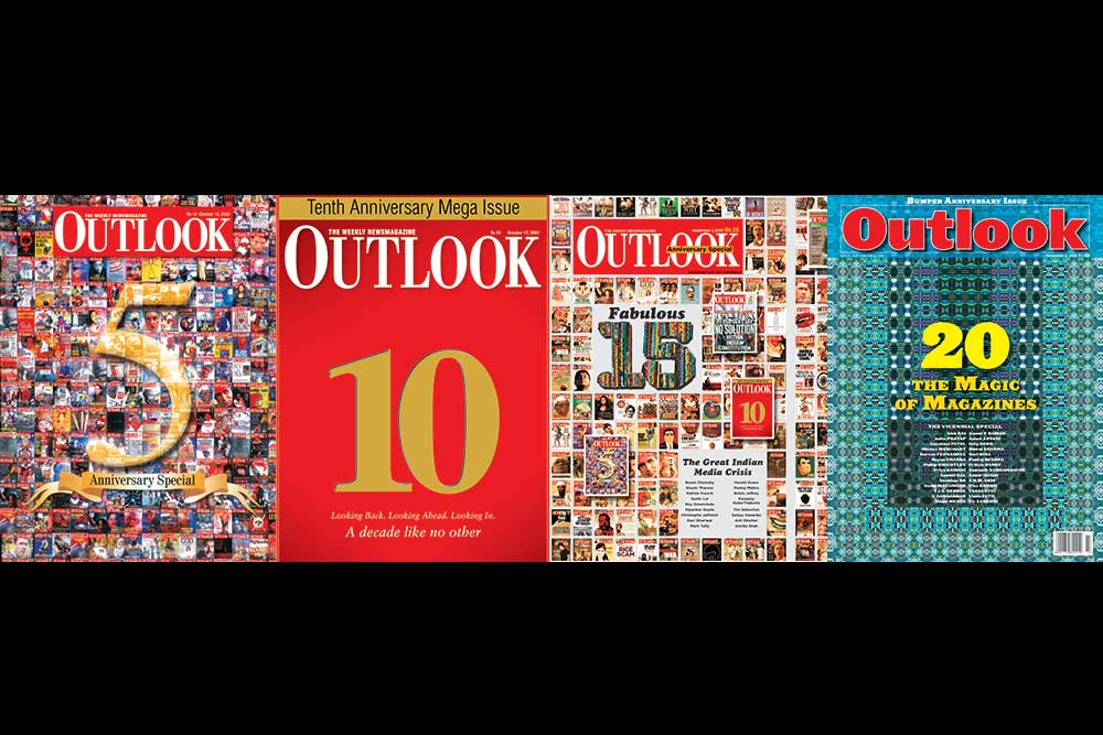 Outlook's 24th Anniversary Special Issue -- Rain Or Shine, Bouquets Or Brickbats, Why We Are Different