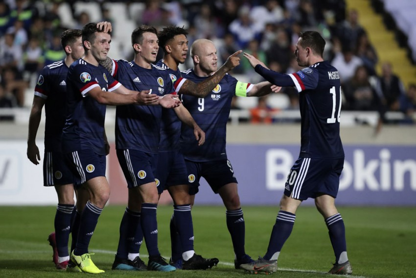 Scotland To Host Israel In Euro 2020 Play-Off