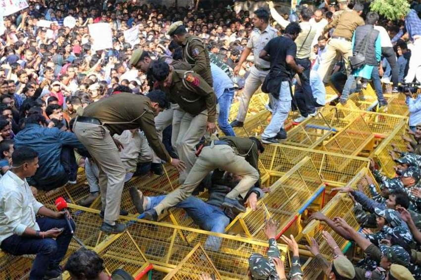 BJP, Left Parties Cross Swords In Rajya Sabha Over JNU Protests Against Fee Hike