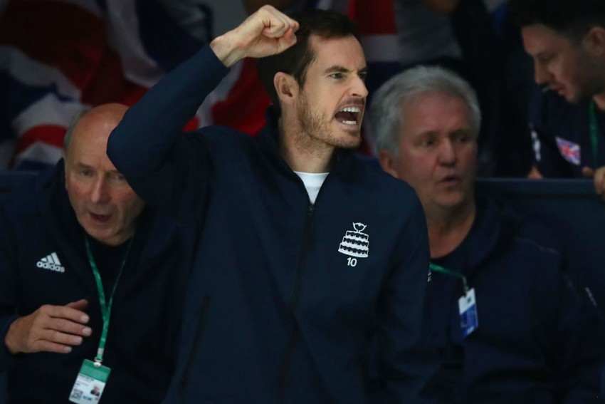 Andy Murray Misses Out For Great Britain In Davis Cup Quarter-Final