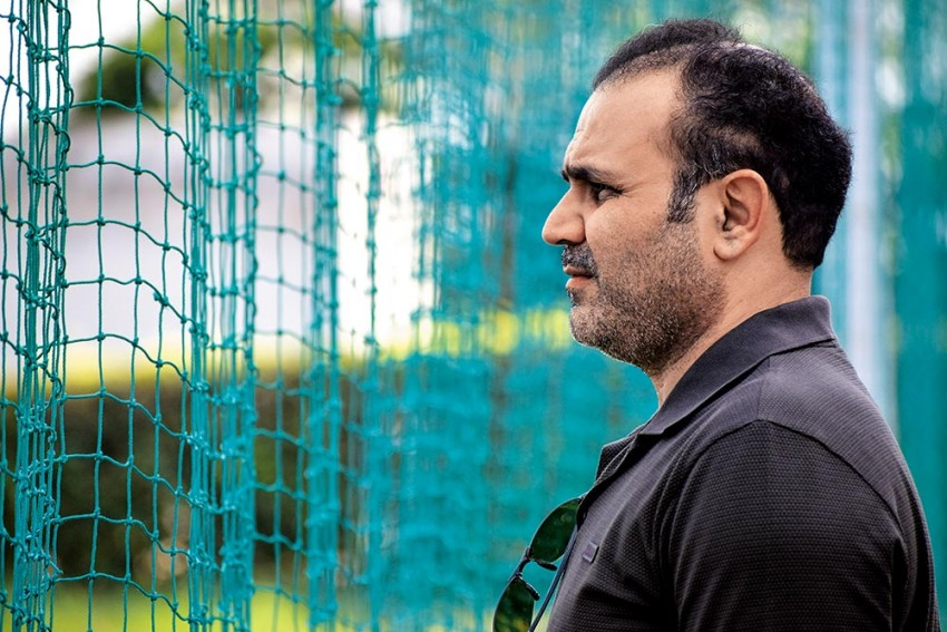 24 Hours In Life Of Virender Sehwag: Living His Father's Dream And Mentoring Kids, Copybook Style