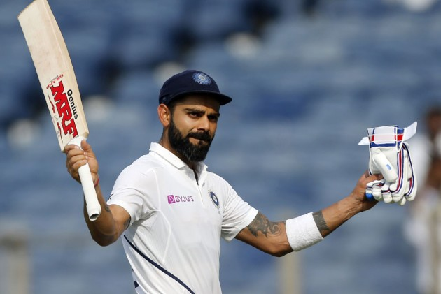 Ind Vs Ban Day Night Test Sublime Virat Kohli Conquers Pink Ball Equals Ricky Ponting Record With Another Ton